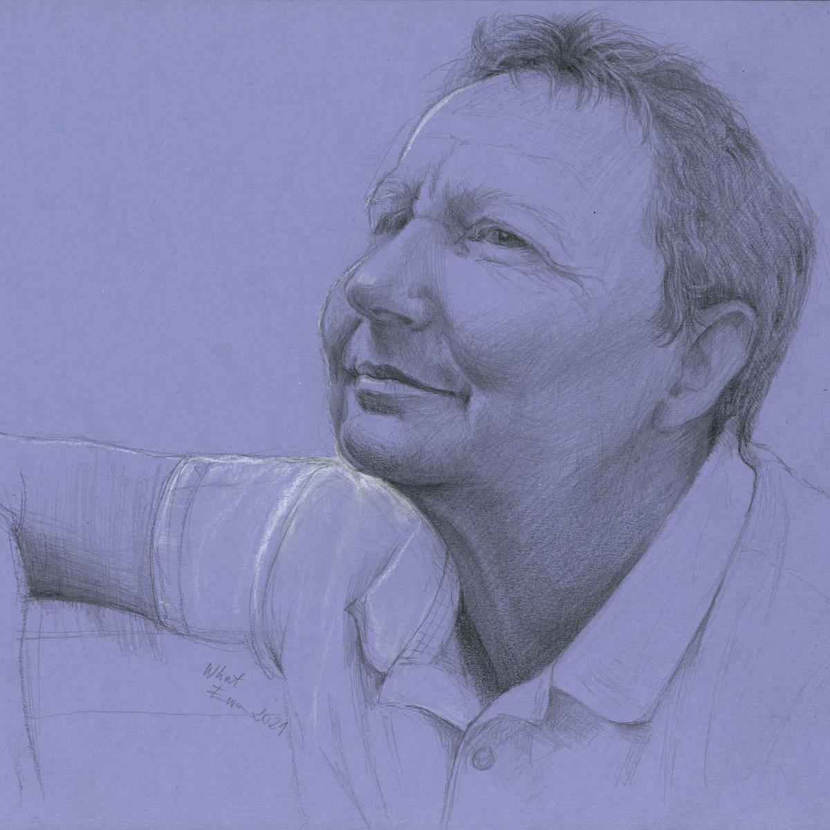 Portrait, Bleistift A4